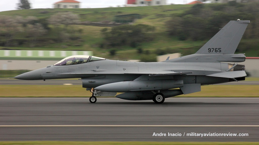 Egyptian Air Force F-16C 9765 arriving at Lajes Field on 27.10.15 (Andre Inacio)