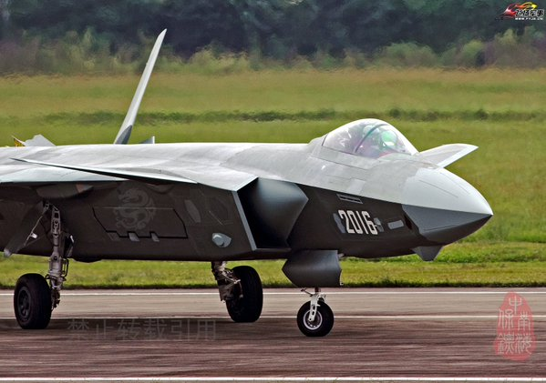 Production Chengdu J-20 Spotted – Military Aviation Review