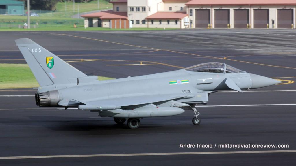 RAF Typhoon ZJ916 en route to Langley Air Force Base (3011.15)
