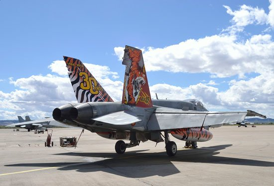 Spanish Tiger Meet EF-18 Unveiled – Military Aviation Review