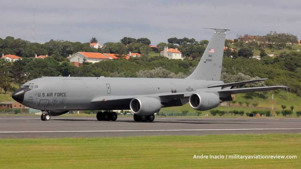 Support was provided by 22nd Air Refueling Wing KC-135R 62-3564 (Andre Inacio)