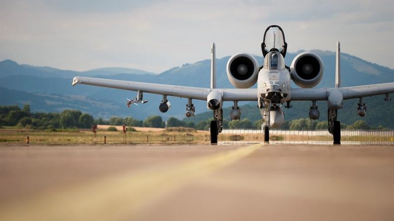 Indiana Air National Guard A-10s deploy to Sliac – Military