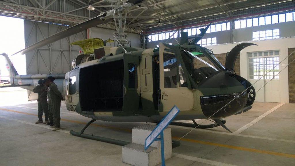 Kenyan Air Force Bell UH-1H KAF1500 at Laikipia Airbase (Kenyan Defence Forces)